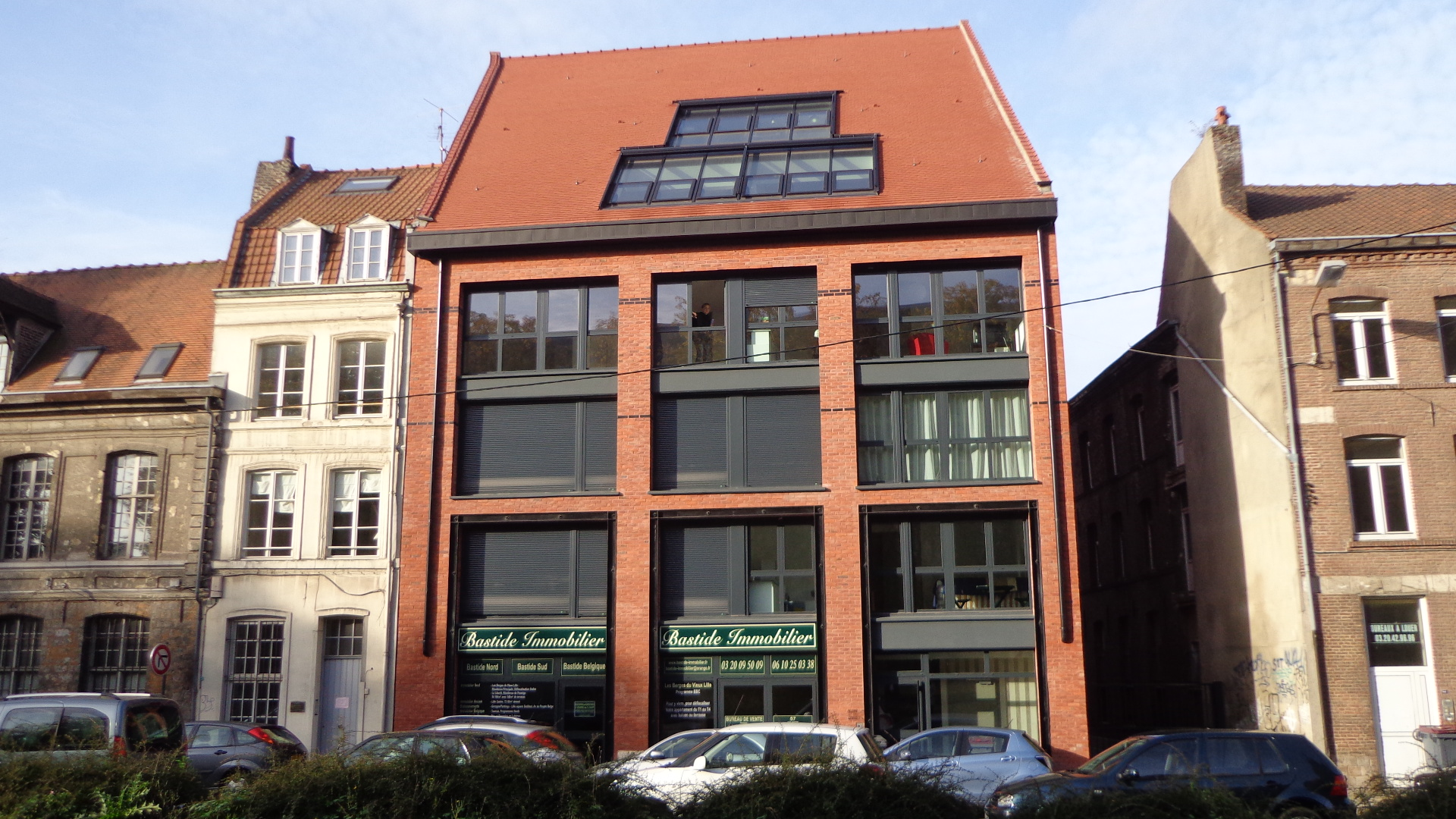 Bastide immobilier programme les berges du vieux lille for Garage lille sud